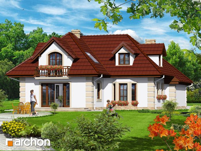 Dom w macierzankach - Widok 2