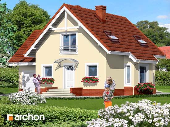 Dom we frezjach - Widok 5