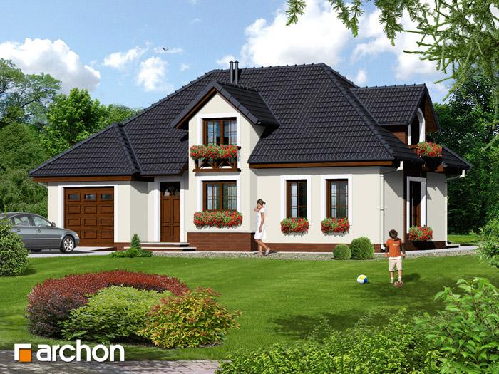 Dom w chabrach - Widok 2