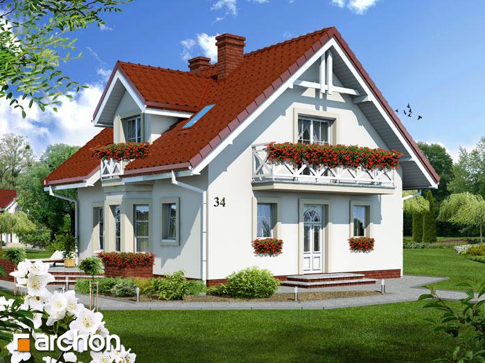 Dom w rododendronach - Widok 13