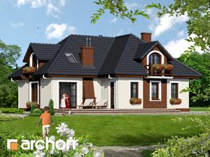 Dom w chabrach - Widok 3