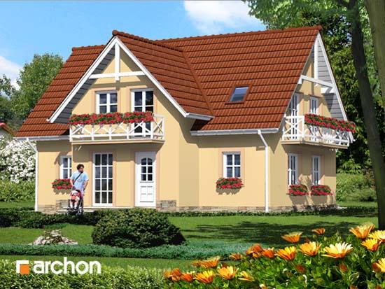 Dom w fiołkach - Widok 2