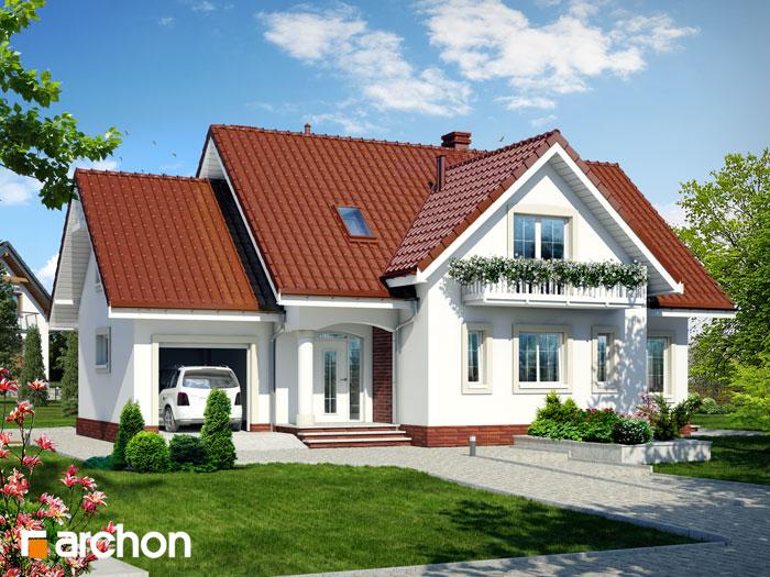 Dom w lobeliach - Widok 10