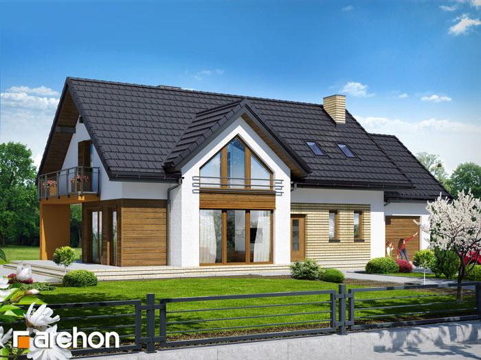 Dom w daktylowcach - Widok 204