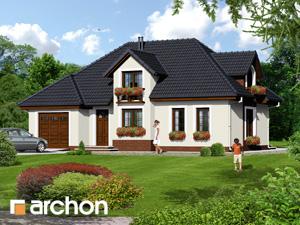 Dom w chabrach - Widok 4