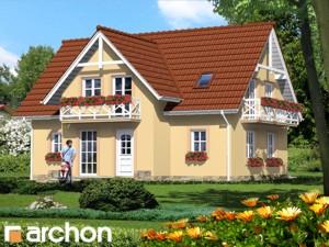 Dom w fiołkach - Widok 3