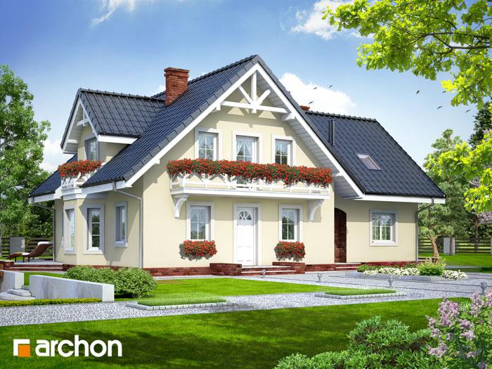 Dom w borowikach (P) - Widok 172