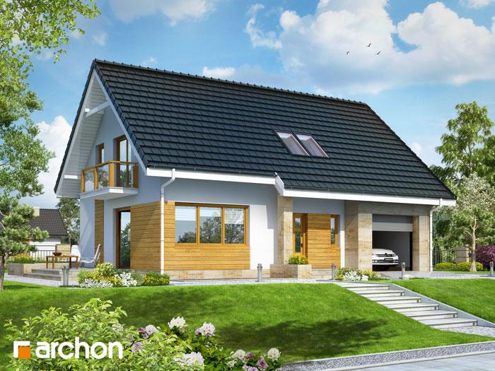 Dom w poziomkach 5 (GN) - Widok 11