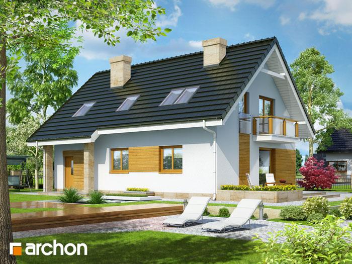 Dom w poziomkach 5 (GN) - Widok 2