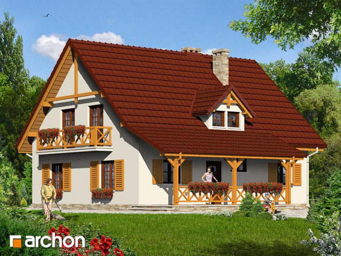 Dom w peoniach - Widok 2